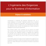 L'Ingénierie des Exigences pour le Système d'Information